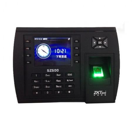 中控智慧SZ500指纹打卡考勤门禁机 网络U盘下载