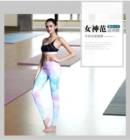 健身高腰瑜伽裤