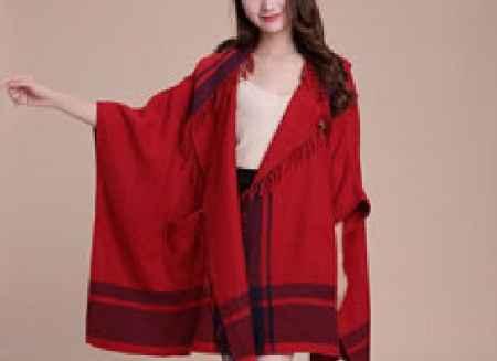 女式羊绒大披肩