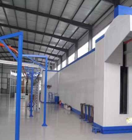 工业粉末喷涂系统