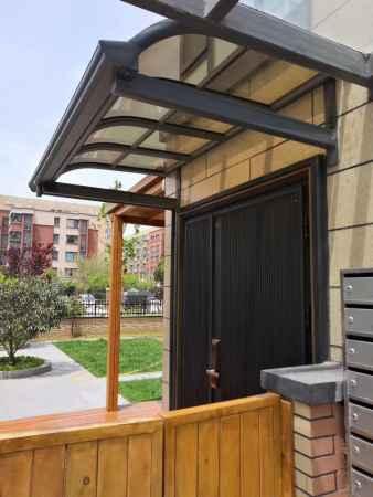 铝合金车棚雨棚定制