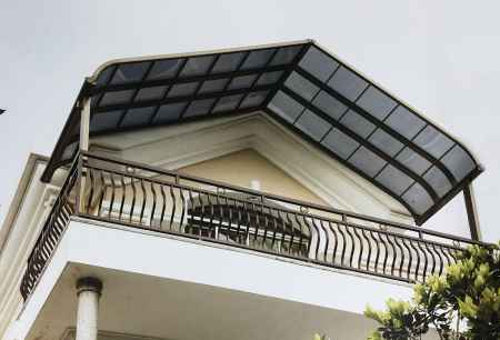 欧式铝合金车棚雨棚