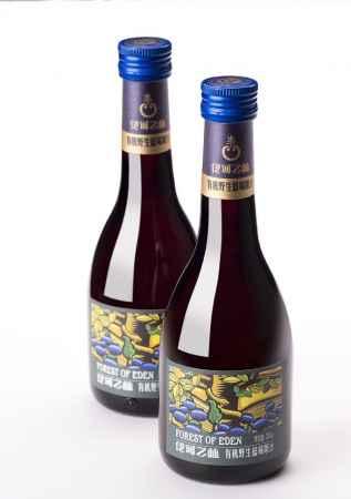 野生蓝莓果汁酵制饮品