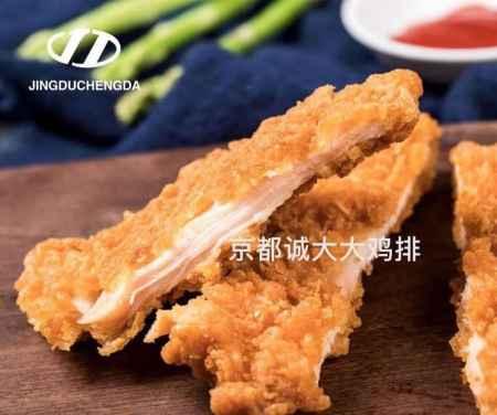 油炸食品可口鸡排