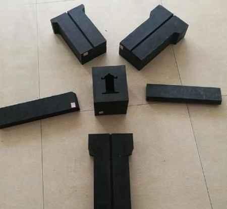 工程减震橡胶块耐磨防震橡胶块销售