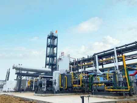 山东天然气单井撬装LNG研发