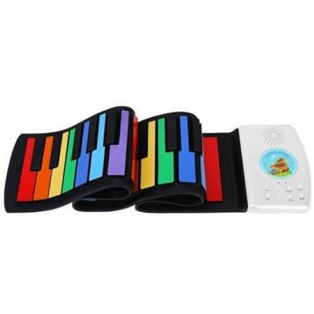 49键儿童折叠钢琴