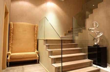 玻璃楼梯护栏定制|玻璃楼梯护栏定制