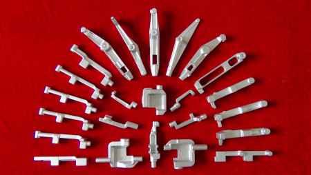 西安工业缝制机械针杆摆动架锻件