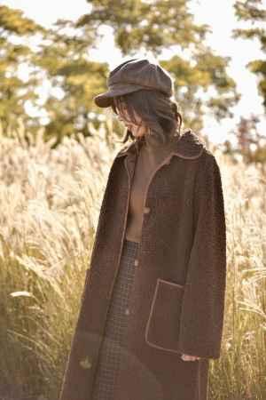 嘉兴秋冬长款羊羔毛大衣批发