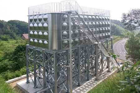 大型不锈钢消防水箱|大型不锈钢消防水箱